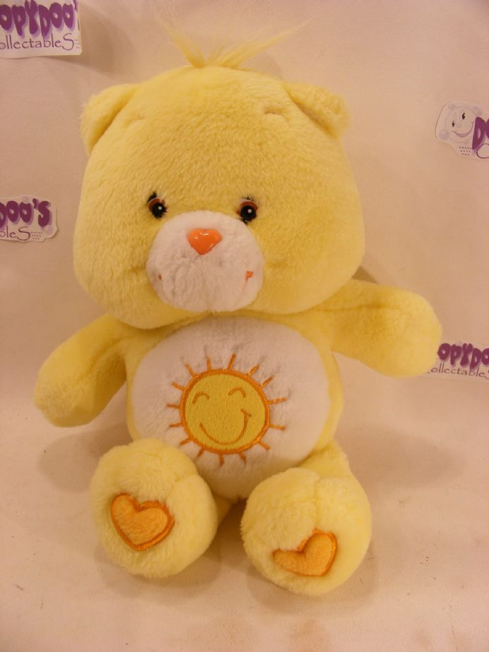 "MODERN 12"" FUNSHINE CAREBEAR CARE BEARS"
